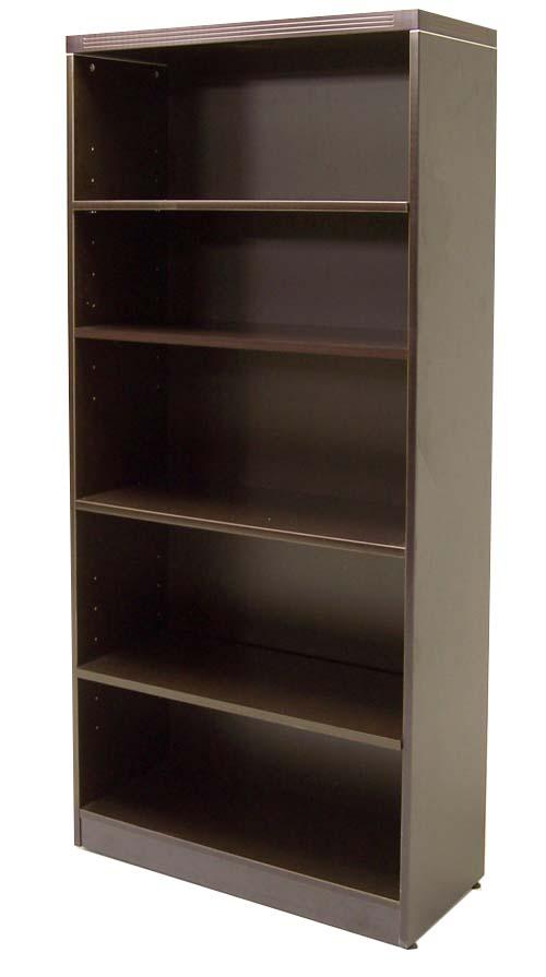 Espresso Bookcase Ofco Office Furniture