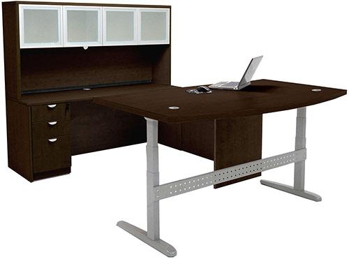 Sit Stand Desk Amp Credenza Ofco Office Furniture