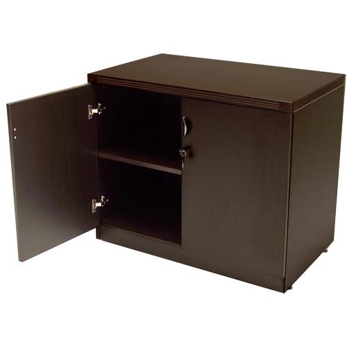 Espresso Storage Cabinet