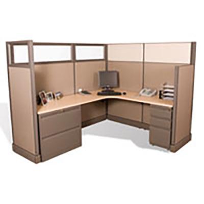 L Shaped Modular Desk