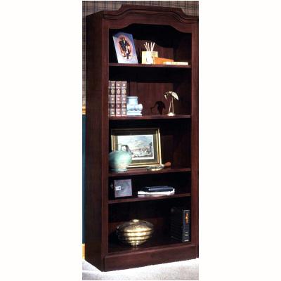 """74"""" Mahogany Bookshelf"""